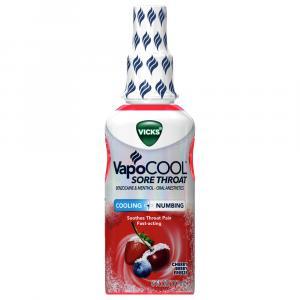 Vicks VapoCOOL Cherry Berry Sore Throat Spray