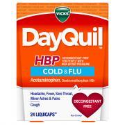 Vicks DayQuil HBP Cold & Flu Liquid Caps