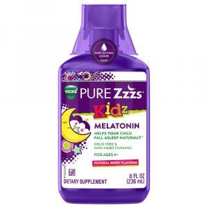 Pure ZZZ's Kidz Melatonin Natural Berry Flavor