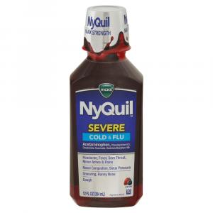 Vicks NyQuil Severe Berry Cold & Flu