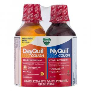 Vicks DayQuil and NyQuil Cough Combo Pack