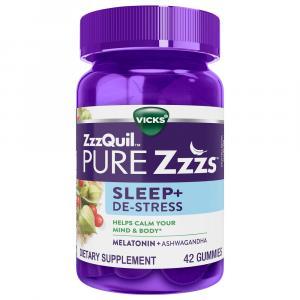 ZzzQuil Pure ZZZs Sleep + De-Stress Gummies