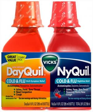 Vicks Nyquil Cold & Flu Combo Pack