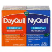 Vicks NyQuil & DayQuil LiquiCaps Combo Pack