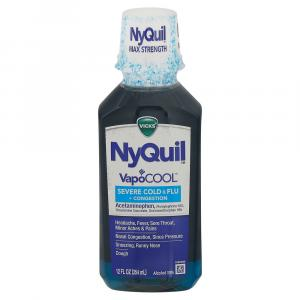 Vicks NyQuil Severe Vapo Cool Cold & Flu