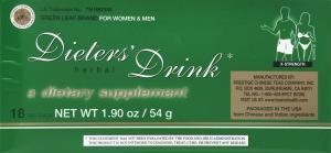 Dieters Drink Tea Bags X-Strength