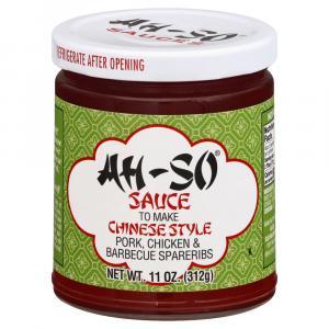 Ah-so Chinese Bbq Sauce