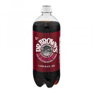 Dr. Brown's Black Cherry Soda