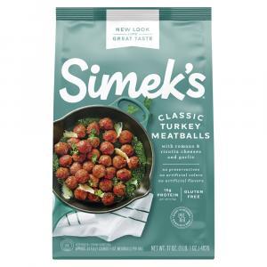 Simek's Gluten Free Turkey Meatballs