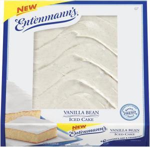 Entenmann's Vanilla Bean Iced Cake