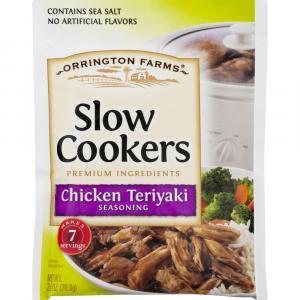 Orrington Farms Slow Cooker Chicken Teriyaki Seasoning