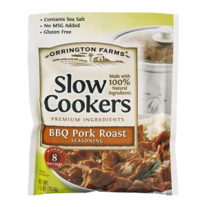 Orrington Farms Slow Cooker BBQ Pork Roast