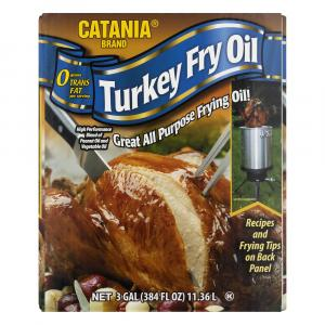 Catania Turkey Frying Peanut Oil Blend