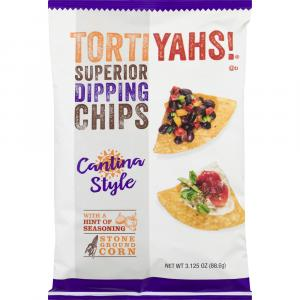Tortiyahs! Cantina Style Stone Ground Corn Chips