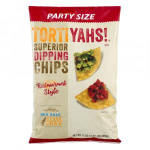 Tortiyahs! Party Size Restaurant Style Sea Salt