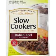Orrington Farms Slow Cooker Italian Beef Seasoning
