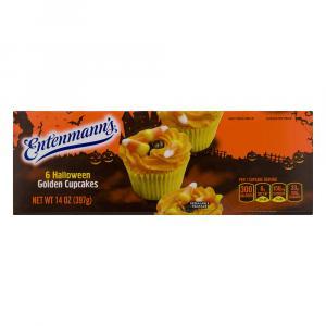 Entenmann's Holiday Golden Cupcakes
