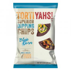 Tortiyahs! Blue Corn Sea Salt Stone Ground Corn Chips