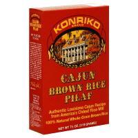Konriko Hot N'spicy Brown Rice Pilaf