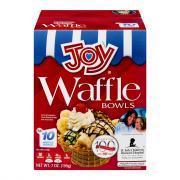 Joy Waffle Ice Cream Bowls