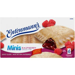 Entenmann's Raspberry Snack Pie