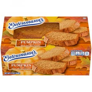Entenmann's Pumpkin Loaf Cake