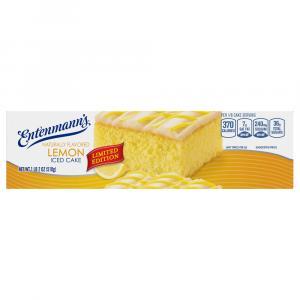 Entenmann's Iced Lemon Cake