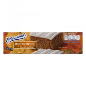 Entenmann's Iced Pumpkin Cake