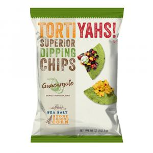 Tortiyahs! Guacamole Sea Salt Stone Ground Corn Chips