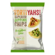 Tortiyahs! Brazilian Lime Stone Ground Corn Chips