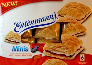 Entenmann's Limited Edition Creme Puffs