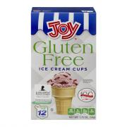 Joy Gluten Free Ice Cream Cups