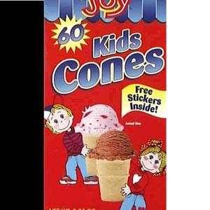Joy Kid's Ice Cream Cones
