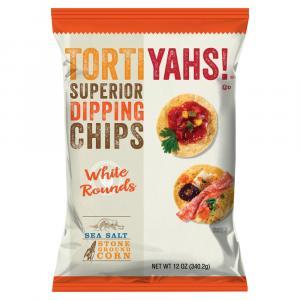 Tortiyah White Round Tortilla Chips