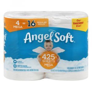 Angel Soft Mega Roll Bathroom Tissue