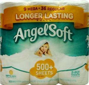 Angel Soft Mega Roll Bath Tissue