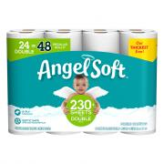 Angel Soft 24 Double Roll Bath Tissue