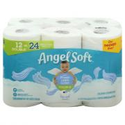 Angel Soft Double Roll Fresh Linen Scent Bathroom Tissue