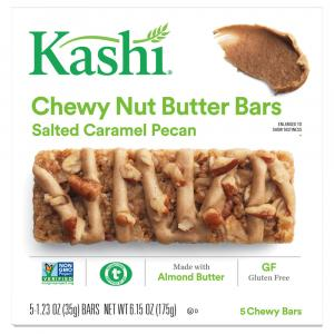 Kashi Chewy Nut Butter Bars Salted Caramel Pecan