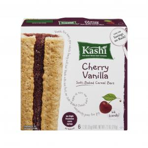 Kashi Tlc Soft-baked Cherry Vanilla Cereal Bars