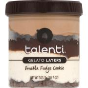 Talenti Layers Vanilla Fudge Cookie Gelato