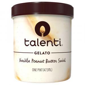 Talenti Vanilla Peanut Butter Swirl Gelato