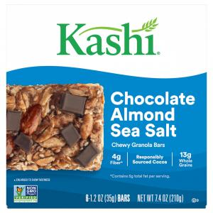 Kashi Chewy Chocolate Almond Sea Salt Bar
