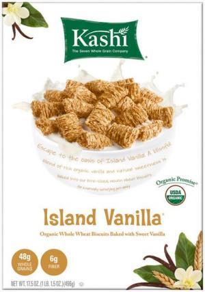 Kashi Organic Island Vanilla Cereal