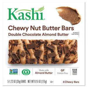 Kashi Chewy Nut Butter Bars Double Chocolate Almond Butter
