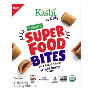 Kashi by Kids Super Food Bites Organic Mixed Berry