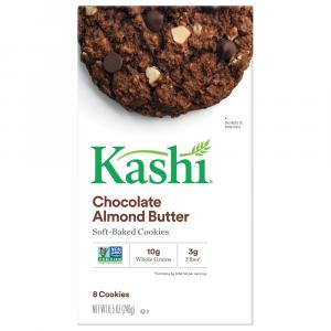 Kashi Chocolate Almond Butter Cookies