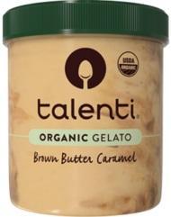 Talenti Organic Gelato Brown Butter Caramel