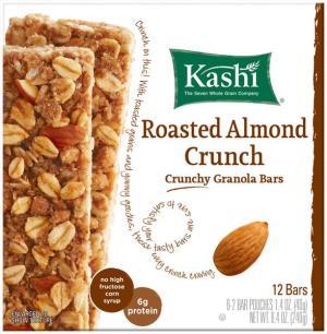 Kashi Tlc Crunchy Roasted Almond Crunch Granola Bars