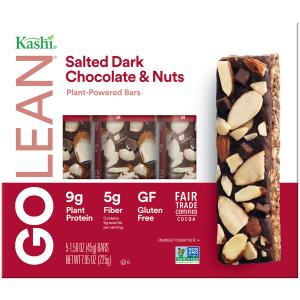 Kashi Go Lean Salted Dark Chocolate & Nuts Bars